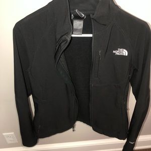 Women's Black North Face light jacket